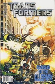 Transformers Saga of the Allspark #2 Cover A (2008) IDW Publishing comic book